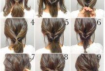 Frisuren für Mittellänge bis Kurz / Frisuren für Kurzhaarschnitte  Bzw. Mittellang♥