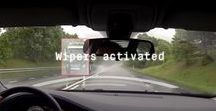ProActive Wipers / Sometimes a sudden splash of water covers the windscreen and it takes a while for the wiper system or the driver to react. 50% of drivers feel anxious before overtaking a truck on a wet road. ProActive Wipers are smart windscreen wipers that activate even before the water hits the windscreen.  Read more at: http://semcon.com/paw/