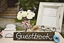 Guest Book Ideas / Let Your Gracious Guests Leave You Notes of Love to Look Upon for Years to Come