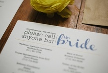 Wedding Planning / Checklists, Tips, Advice, and More to Keep You in Line on Your Way to Your Big Day