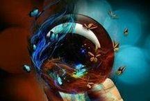 Butterflies & Tattoos / by The Blue Butterfly .
