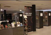 Vanha maantie / Helsinki Metropolia UAS Library @ Leppävaara. Metropolia Ammattikorkeakoulun kirjasto, Leppävaara.