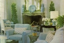 DECOR:SHADES OF BLUE / by PEACHES
