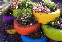 FLOWERS, Planters / by KAT