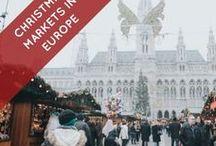 Christmas Markets in Europe / Christmas, Market, festival, kids, children, presents, gifts, trees, Christmas Tree, Christmas lights, happy, holidays, Europe, Germany, France, wine, beer, celebration