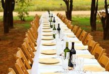 Wine Deco | Wedding Ideas / Using all things Wine to compliment your magical day at Dry Comal Creek Vineyards & Winery.  Let our amazing staff help you create a day to remember.