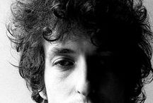 Bob Dylan / black and white shoots