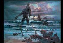 Pitre Art Videos / #artmovie #movie #clip #artwork #oilpainting #surrealism #fantasy #art #painting