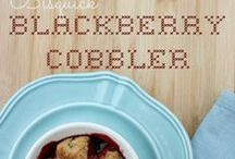 COBBLER (BLACKBERRY) RECIPES / by Paul Hardman