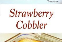 COBBLER (STRAWBERRY) RECIPES / by Paul Hardman