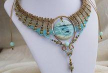 jewellery  - macramé - crochet