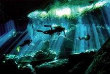 Cenote Diving / Scuba diving in cenote - Cavern and Cave diving - Riviera Maya Mexico