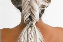 FnF Style: Hair & Makeup / fishtail braids, messy buns, and the hair and beauty trends we can't get enough of right now.