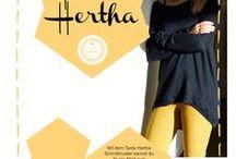 """★ Schnittmuster """"Tante Hertha"""" von echtKnorke ★ / Gesammelte Beispiele zum Schnittmuster """"Tante Hertha"""" von echtKnorke"""