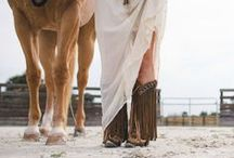Western Style / We love western style- from cowboy boots to horses, fringe and rodeo glam.