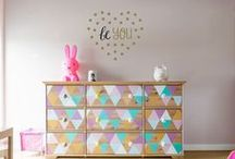 Kids Rooms / Nursery decorations / Fun wall decals and wall stickers - just perfect for decorating rooms for the kids.