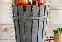 DIY Fall Home Decor / Beautiful DIY ideas for home decor for fall. Your home never looked so lovely!