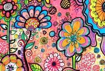 Zentangle Color / by Tina Liddie