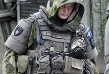 Military uniform & tactical gear references