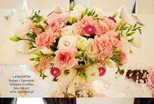 dekoracje stołu weselnego / Dekoracje stołu weselnego. Kwiaciarnia 7 Kwiatów z Lublina www.7kwiatow.pl / www.sklep.7kwiatow.pl 504-156-427