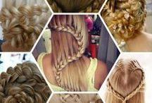 Různé účesy / vlasové ůčesy :D