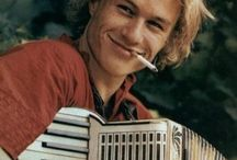 A Ledger Thing / Heath Ledger // my teenage crush // that smile!! // just... RIP