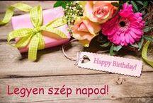 Születésnap - Happy Birthday