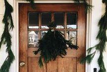 vintage wonderland | / christmas,  holiday, december, decor, vintage, rugged, glamour, tailored,