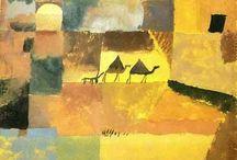 Paul Klee - watercolor - gouache / Paintings