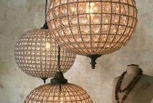 Art lamp.