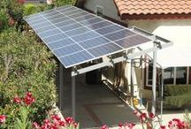 Solar Patios and Awnings / Using solar for energy and beautiful patio coverings. #greenbuilding #netzeroenergy #solar