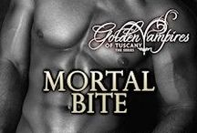 Golden Vampires of Tuscany / Sexy and hunky Vampires with a difference! These vampires can walk in daylight. Paranormal romance series by Sharon Hamilton.