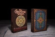 Grimoire Series, Pt. 1 by Edgy Brothers / A series of custom playing cards based on different disciplines of magick as revealed in ancient texts, or Grimoires.