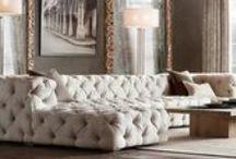 huonekaluja ja sisustusta