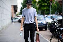 MY STYLE s/s / ダサカッコイイ オールブラック ダサプリント 古着柄シャツ シャツイン キャップ ハット ワンサイズ上のトップス ワイドパンツ サマーニット パリッとしたトップス マルジェラセットアップ