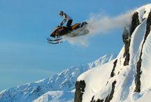 RECREATIONAL FUN:  Snowmobiling /  A great winter sport.  / by Skye Park