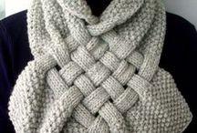 COWL / COLS tricot et crochet