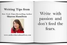 Sharon's Writing Tips / Writing Tips from New York Times & USA Today Bestselling Author, Sharon Hamilton.