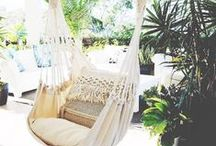 h a m m o c k  l o v e / At Collective Sol, we LOVE hammocks!  Inspiration and our collection, you will find your dream hammock here xx