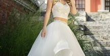 wedding dress - CROWN TOP / Abiti da sposa in stile Crown Top, cioè spezzati top + gonna