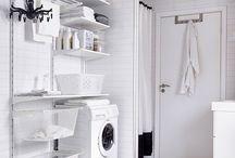 Laundry / Ideas para la zona de ropas -lavadero- de mi apto
