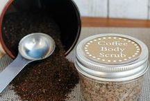 DIY Natural Beauty / Why buy readymade beauty products when you can make your own with a few simple ingredients? Here we pin a collection of tutorials for natural face and body scrubs, bath salts and more—all conveniently stored in your favorite Ball canning jars!