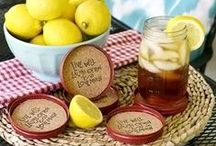 Old Lids, New Tricks! / As you may already know, once you use Ball canning jar lids for canning, they can't be reused. Here we pin all sorts of ways to repurpose your old canning jar lids!