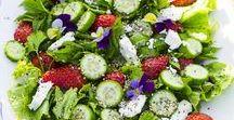 Food: Salate - salads / All kinds of salads ♥ #Salate #salade #Rezepte #recipes #food #foodblog #Germanfoodblog #SalatezumGrillen #fitnesssalate #schnelleSalate