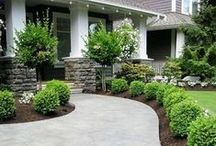 Landscape & Garden Ideas / Create your own oasis - landscaping, pathways, DIY, gardens, etc