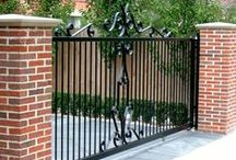 Traditional Gates / Examples of different automatic gate designs from us and others. - Like One? - Ask if we are able to make it for you.