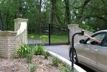 Auto Gate Accessories / Accessories for automatic gates. Keypads, intercoms, video intercoms, push buttons, GSM wireless intercom, PE (photo) cells, loop detectors, 24hr timers, etc