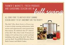 Get Canning with the Ball Blue Book - CLOSED / Contest CLOSED. To celebrate the 37th edition of the Ball Blue Book we're giving away a prize package including a free copy of the Ball Blue Book and the Ball FreshTECH Electric Water Bath Canner and Multi-Cooker. Enter here: http://www.freshpreserving.com/content/summer-2015-pinterest-form1 / by Ball® Canning