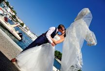 My Skiathos Wedding / Our wedding in Skiathos, Greece on Friday 4th September 2015. Ceremony at Bourtzi, Skiathos town. Drinks by the harbour followed by a boat trip over the the reception venue, Porto Paradiso, Vromolimnos Beach.