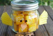 Hello Spring! / Your favorite spring holiday mason jar ideas!